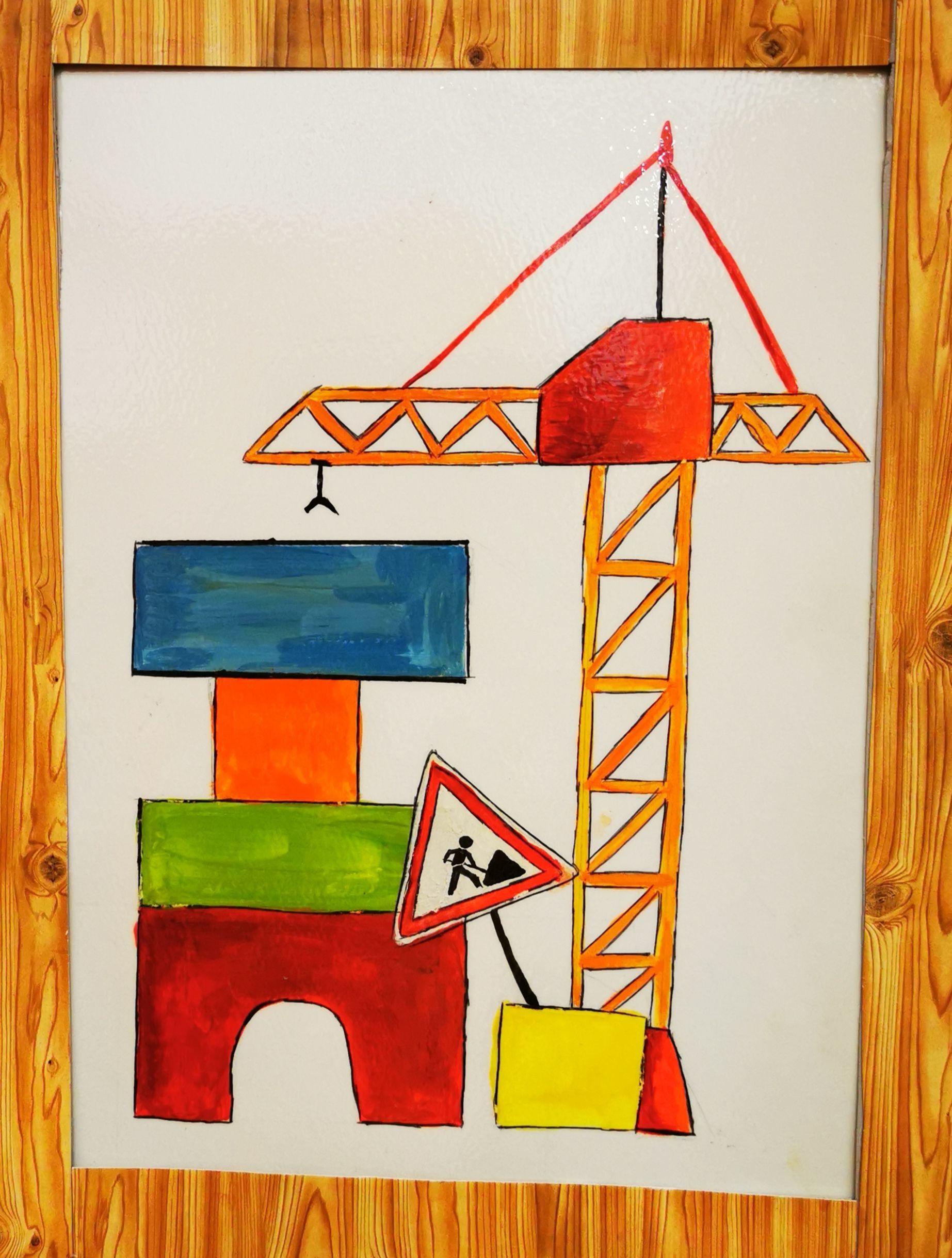 Bauraum Türschild