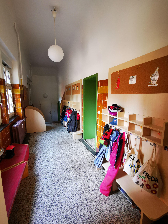 Garderobe Lernwerkstatt